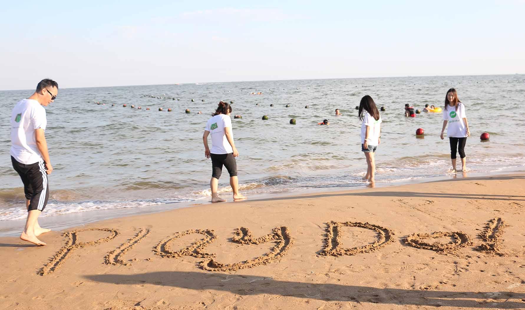 2016.08.26~28 PLAYDO Activity - Go Camping To Famous Beidaihe Tourist Resorts
