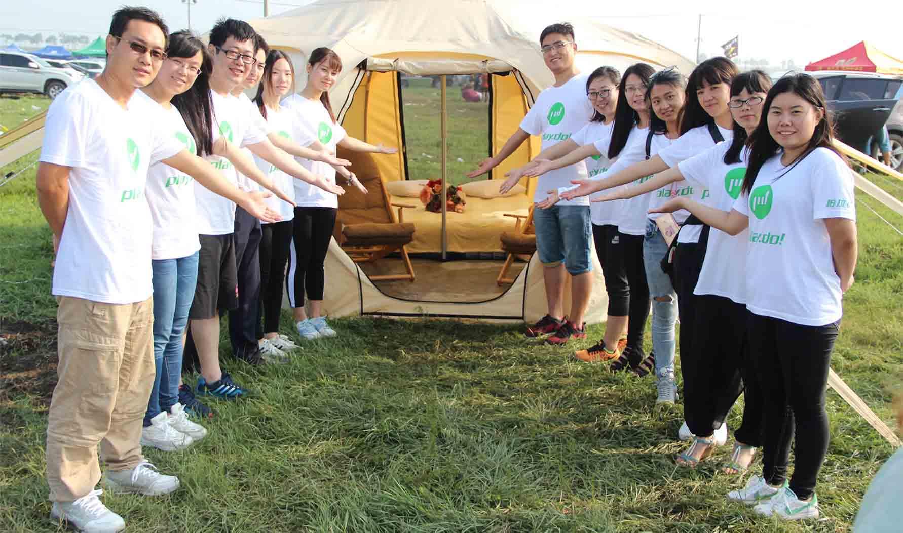 2016.07.29~31 PLAYDO Camping at Zhangbei Grassland Music Festival
