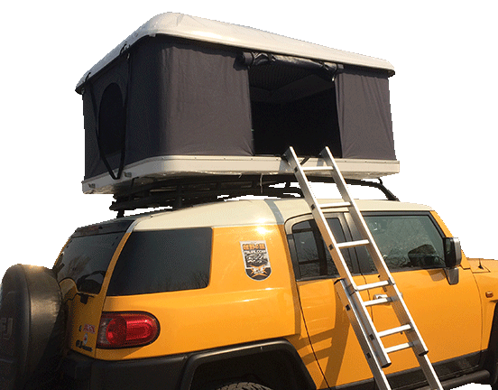 Hard roof top tent