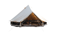 What should we pay attention to when using a canvas tent