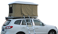 Roof top tent is really suitable for outdoor travel equipment