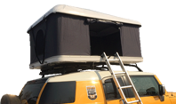 Hard top roof tent: coolest outdoor camping experience
