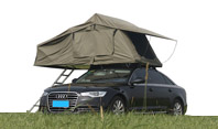 Roof top tents make your trip more unrestrained