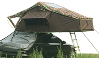 Unique charm of roof top tent