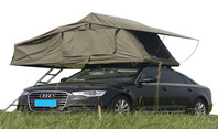 Playdo's car roof top tent is durable