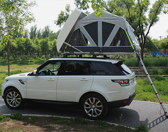 Automatic roof tent