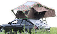 Roof top tent bring comfortable outdoor travel