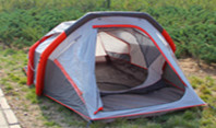 Best way to build inflatable camping tents