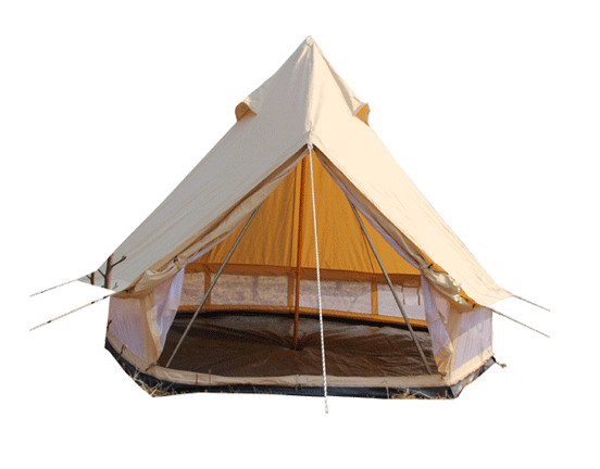 Can canvas tents have large environmental requirements?