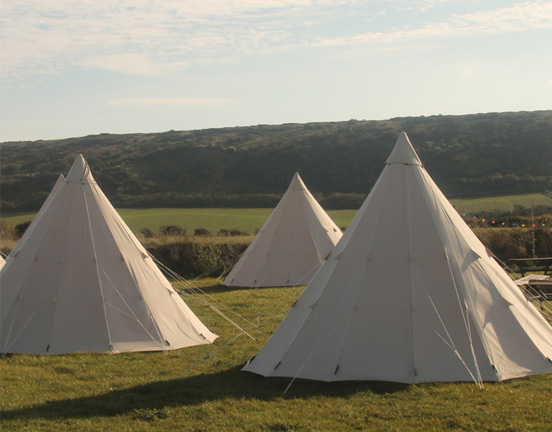 Canvas Tipi Tent