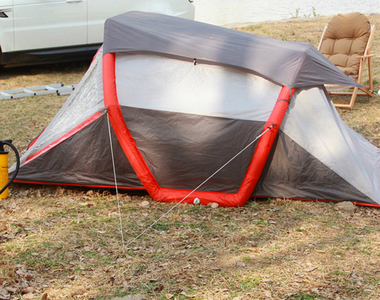 Why use an inflatable tent?