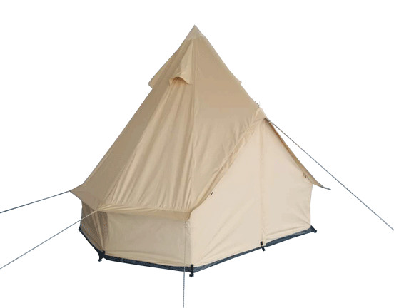 Why live in a Canvas tent?
