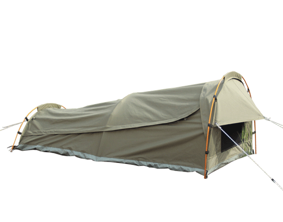 Why Sleeping in a Swag Tent