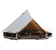 How To Use The Canvas Bell Tent And 6m Bell Tent