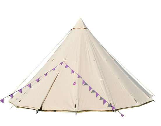 Canvas Tipi Tent advantages