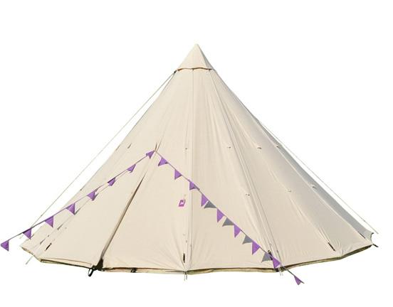 Canvas Tipi Tent advantages
