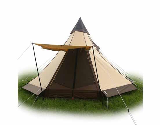 Double Door Teepee tent