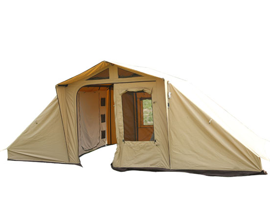 A Few Tips of Managing a  Canvas Tent