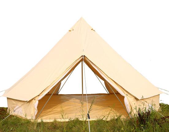 The Waterproof Logic of Tents