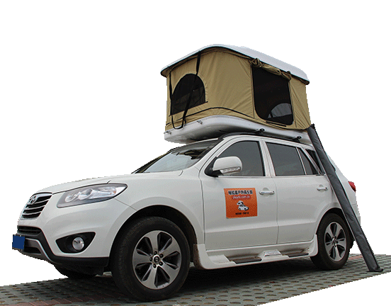 The Most Self-Driving Artifact Recognized by Netizens - Car Roof Tent
