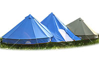 How to choose a durable canvas tent?